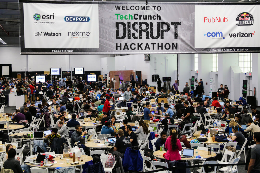 (Hackathons are certainly becoming widespread - Image: Tech Crunch)